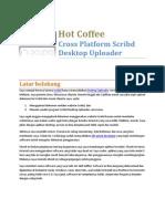 Hot Coffee Cross Platform Scribd Desktop Uploader