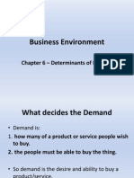 Business Environment Chapter 6 Demand ++