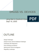 Drugs vs Devices 1