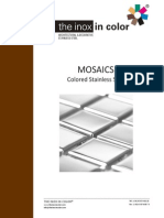 Mosaics + Tiles the Inox in Color (en)