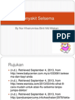 Penyakit Selsema
