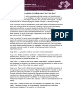 """Responsabilidad Social Empresarial """"Mex Fruitin Bono"""""""
