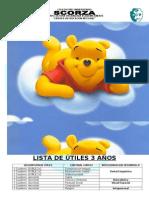 LISTA DE ÚTILES ALPHA - 2010