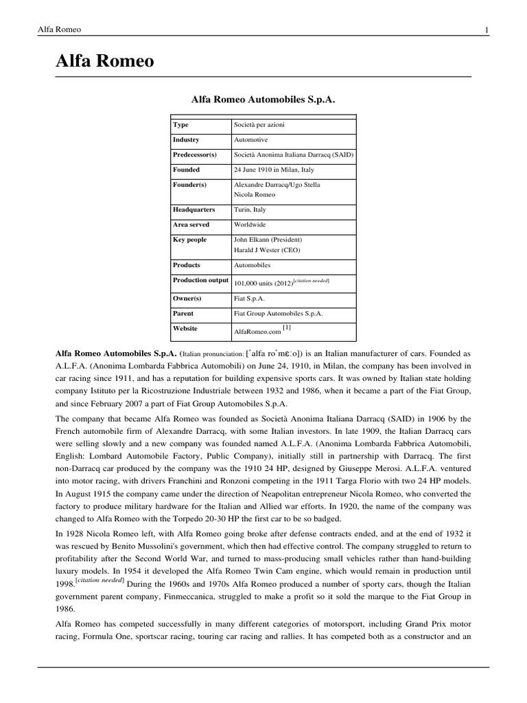 Alfa Romeo Vehicles Automobiles 159 Workshop Manual Download