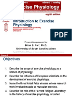 INTRODUCTION Exercise Pgysiology