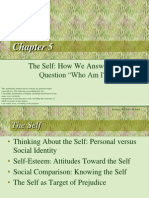 """Baron_Chapter5_The Self_ How We Answer the Question """"Who Am I"""""""