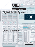 Manuale E-MU 1820 1.81 (EN)