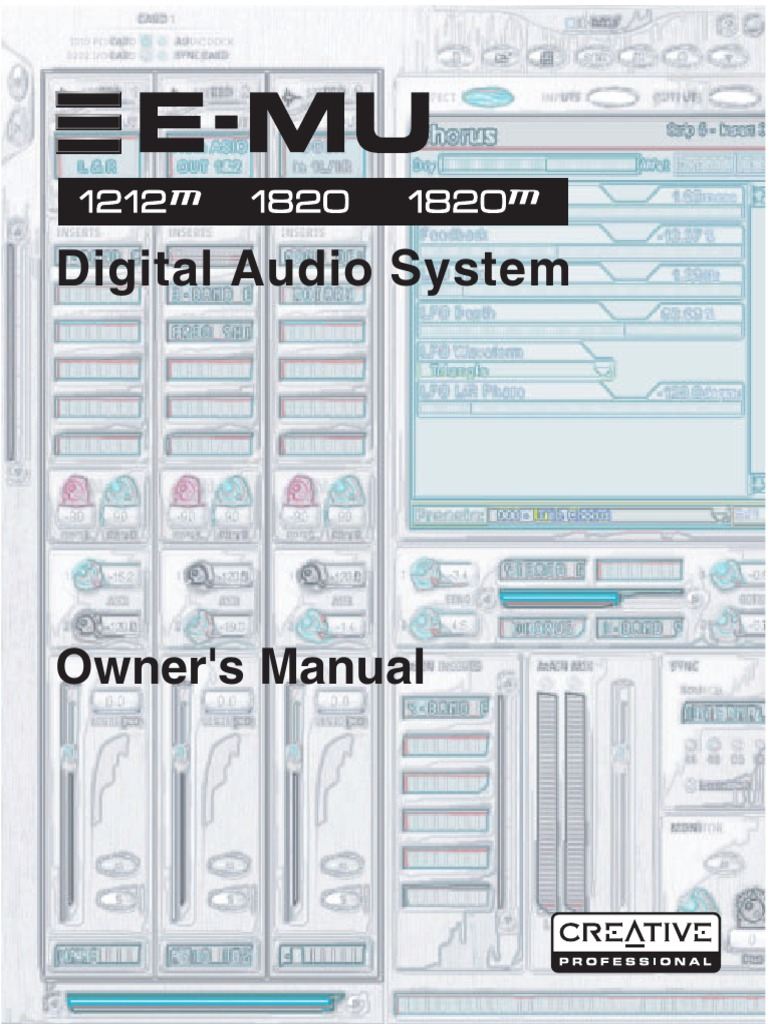 Manuale E Mu 1820 181 En Electrical Connector Device Driver 4x12 Speaker Cabinet Wiring Stereo Mono Google Groups