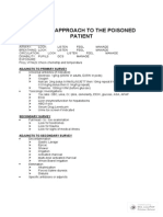 General Tox Approach