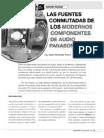 Fuentes Conmutadas en Audio Electronica y Servicio 144