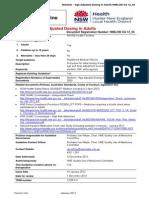 HNELHD CG 12 04 Warfarin Age Adjusted Dosing in Adults
