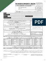 BZU Reg Form