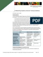 CiscoNetworkingAcademyTrainingGuidelines-18Aug08