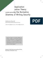 Securitisation Theory