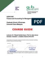 Agw 610 Course Guide Sem 1 2013-14