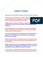 De-Bunking Myths of History
