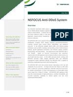 Nsfocus Ads Data Sheet