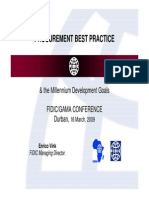 Procurement Best Practice