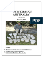 Mysterious Australia Newsletter - August 2013