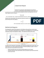 Converging Lenses Experiment Report