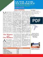 Ofu Obi August 2013 Newsletter