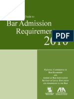 Comprehensive Guide to US BAR 2010