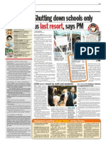 TheSun 2009-06-25 Page03 Shutting Down Schools Only as Last Resort Says Pm