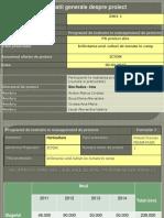 Proiect pe politica agricola comuna 2007-2013 Infiintarea Unei Plntatii de Tomate in Camp