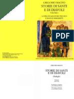 Gregorio Magno - Storie Di Santi e Di Diavoli Vol I