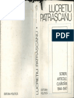 Lucretiu Patrascanu, Scriesri, articole, cuvantari - 1944-1947