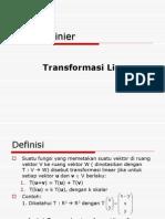 09 Transformasi Linear