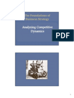 Analyzing Competitive Dynamics