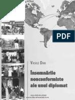 Însemnările nonconformiste ale unui diplomat