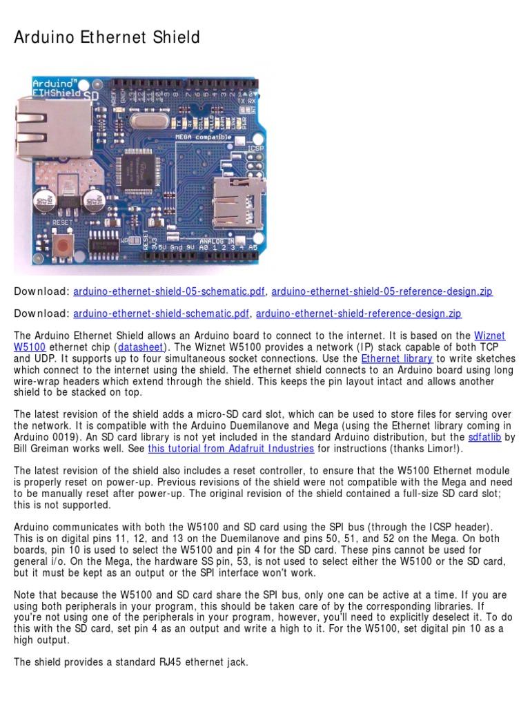 Arduino A000056 Datasheet   Arduino   Secure Digital