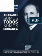Contrato Eleitoral - Independentes Amarante Somos Todos