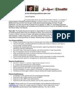 Souktel Inc - Job Announcement - QA Engineer - Sep. 16 2013