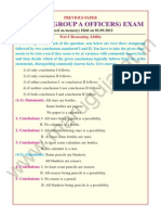 IBPS RRB POs Previous Paper