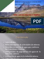 Agua y Mineria - Grupo 3