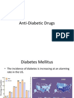 Anti Diabetic Drugs
