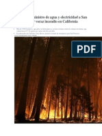 Ternacionales Incedio en California 2013