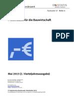 Bau Wirtschaft Pre is e 2170400133224