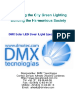 Solar LED Streetlights Manual
