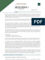 Geologia - Programa