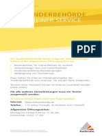 Auslaenderbehoerde Allgemeiner Service