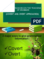 Covert and Overt Ppt.
