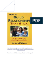 How to Build Relationships-