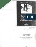 Sennett, Richard - La Corrosion Del Caracter, Las Consecuencias Personales Del Trabajo en El Nuevo Capitalismo