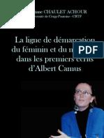 La ligne de démarcation du féminin et du masculin dans les premiers écrits d'Albert Camus