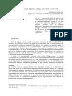 Le parlement marocain  Régulation politique et incertitude transitionnelle