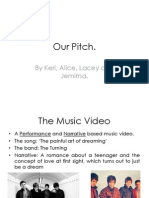 Music Video Pitch